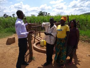The Water Project:  Field Staff Having A Conversation With Community Members