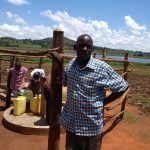 The Water Project: Maiha-Kayanja Community -  Wandera Johnson The Chair Person Wsc