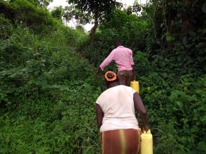 The Water Project:  Carrying Water Back Home