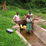 The Water Project: Ejinga-Ayikoru Community -  People Fetching Water