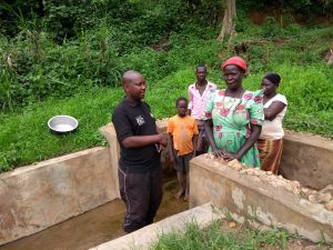 The Water Project:  A Field Officer Speaks With Community Members