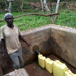 The Water Project: Karongo-Dum Community -  Ochakire Muzamil Water Point Caretaker