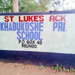 The Water Project: Khabukoshe Primary School -  School Entrance