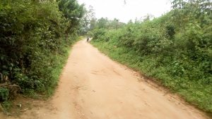 The Water Project:  Road Leading To School