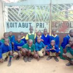 The Water Project: Koitabut Primary School -  Students At Gate