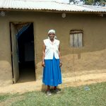 The Water Project: Mukhuyu Community, Kwawanzala Spring -  Mama Rose At Her Compound