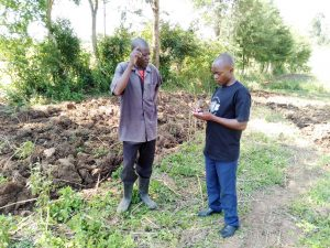 The Water Project:  Interviewing A Community Member