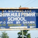 The Water Project: Eshiakhulo Primary School -  School Sign