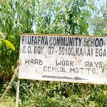 The Water Project: Elufafwa Community School -  School Sign
