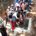 The Water Project: Mungakha Community, Asena Spring -  Handwashing Training