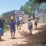 The Water Project: Lwakhupa Primary School -  Carrying Water