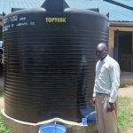 The Water Project: Lwakhupa Mixed Secondary School -  Plastic Tank