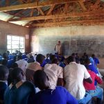 The Water Project: Sango Primary School -  Students In Class