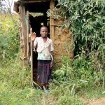 The Water Project: Mukhuyu Community, Kwakhalakayi Spring -  Latrine