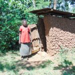 The Water Project: Ibinzo Community, Lucia Spring -  Mud Latrine