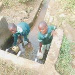 The Water Project: Makunga Primary School -  Fetching Water