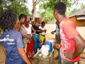 The Water Project:  Making Handwashing Stations