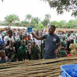 The Water Project: DEC Komrabai Primary School -  Dish Rack Training