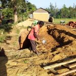The Water Project: Ikoli Primary School -  Sinking Pit For Latrines