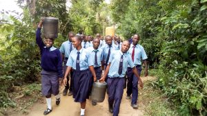 The Water Project:  Walking Back To School