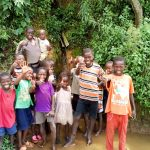 The Water Project: Musango Community, Mwichinga Spring -  At The Spring