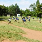 The Water Project: Eshiakhulo Primary School -  Students On School Grounds