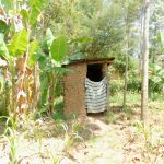 The Water Project: Emukoyani Community, Ombalasi Spring -  Latrine