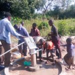 The Water Project: Karagalya Kawanga Community -  Pump Installation