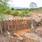 The Water Project: Kaliani Community -  Sand Dam Construction