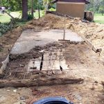 The Water Project: Ikoli Primary School -  Latrine Construction