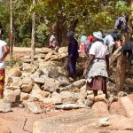 The Water Project: Kitooni Primary School -  Stones Delivered By Parents