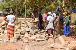 The Water Project:  Stones Delivered By Parents