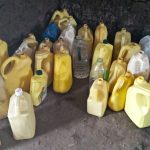 The Water Project: Lwakhupa Primary School -  Water Containers In Kitchen