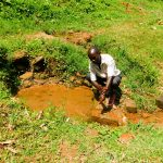 The Water Project: Wajumba Community, Wajumba Spring -  Evans At The Spring