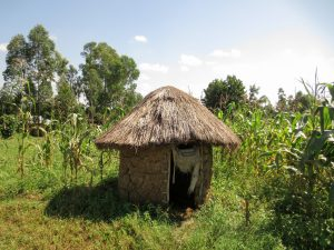The Water Project:  Latrine At Farm
