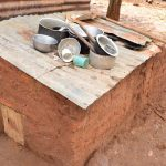 The Water Project: Ndithi Community -  Dishes Drying