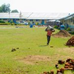 The Water Project: Ikoli Primary School -  Construction