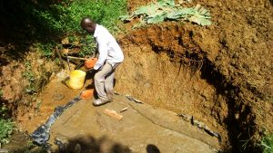 The Water Project:  Foundation Construction