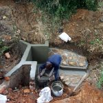 The Water Project: Mungakha Community, Asena Spring -  Construction
