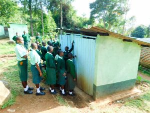 The Water Project:  Overcrowded Latrines