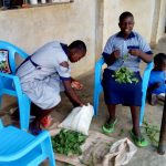 The Water Project: Matungu SDA Special School -  Students Helping Prepare Meal