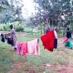 The Water Project: Bukhakunga Community, Ngovilo Spring -  Clothes Drying