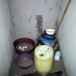 The Water Project: Musango Community, Mwichinga Spring -  Drinking Water Storage