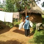 The Water Project: Musango Community, Mushikhulu Spring -  Clothesline