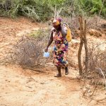 The Water Project: Kathamba Ngii Community -  Fetching Water