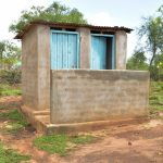 The Water Project: Ndithi Community -  Latrine And Bathing Room