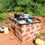 The Water Project: Kithoni Community A -  Dishes Drying