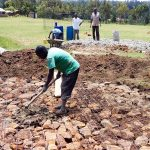 The Water Project: Ikoli Primary School -  Tank Construction