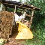 The Water Project: Musango Community, Mushikhulu Spring -  Sample Latrine