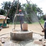 The Water Project: DEC Komrabai Primary School -  Bailing